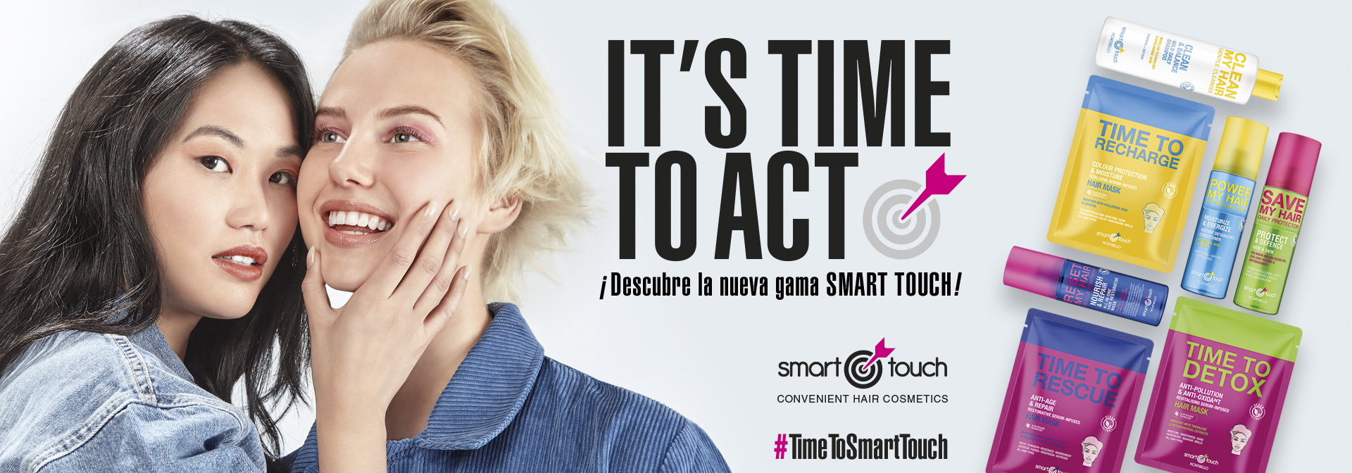 SMART TOUCH – Convenient hair cosmetics