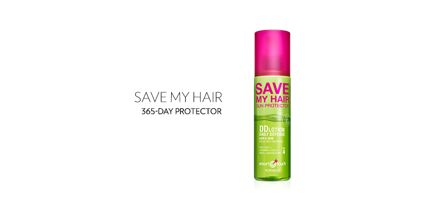 Smart Touch DD lotion Hair Saver 365 days sun protector hair